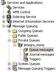 Message Queuing MMC